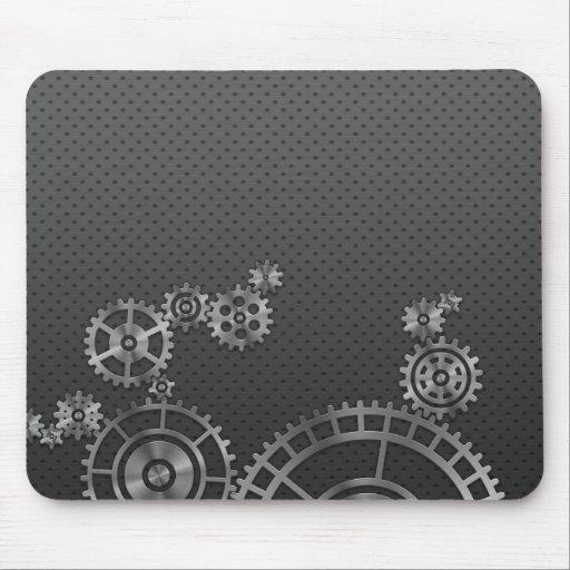 Gear Wheel Wallpaper Mouse Mat
