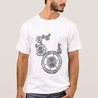 Gear Wheel Wallpaper T-Shirt