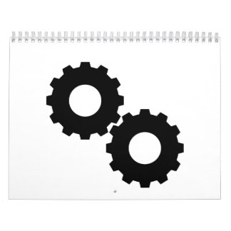 Gear wheels calendar