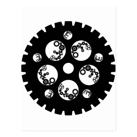 Gear Worx - All Black Postcard