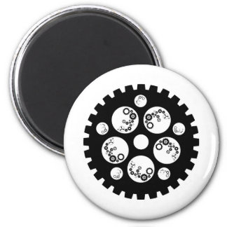Gear Worx Black and White Magnet