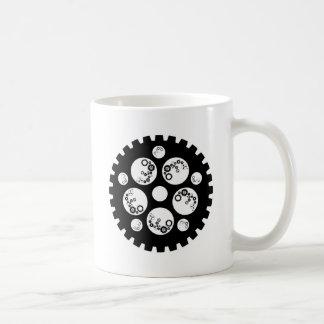 Gear Worx Black and White Mugs