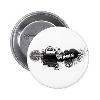 Gear Writers Button 2 Inch Round Button