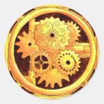 Gearbox1 Classic Round Sticker