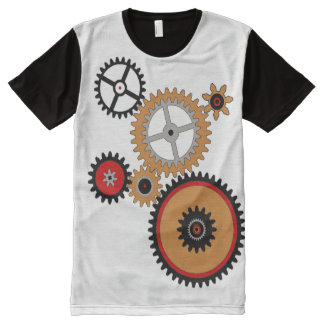GEARED All-Over PRINT T-SHIRT