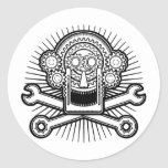 Gearhead -bw stickers