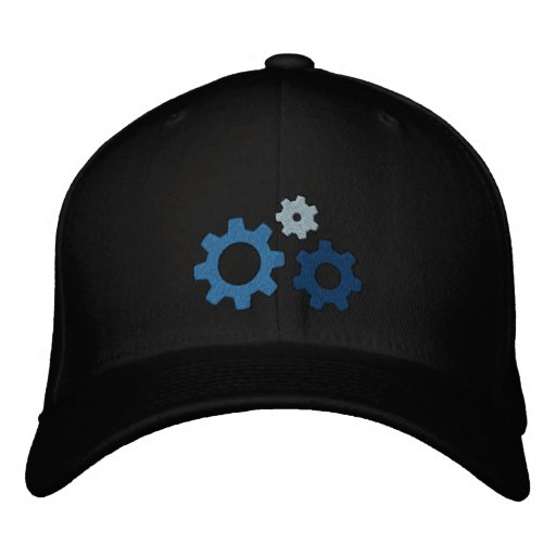 Gearhead Embroidered Baseball Hat