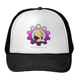 Gearhead Girl - Blonde hair Trucker Hat