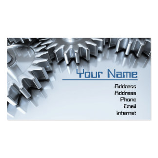 Gears Business Card