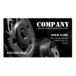 Gears Business Card (one-sided)