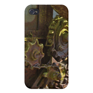 Gears by Uncle Junk Covers For iPhone 4