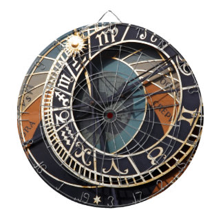 Gears Clock  MeDiEvAL Destiny Gifts Dartboard With Darts