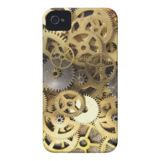 gears for the blackberry - steampunk blackberry iPhone 4 cover