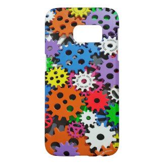 Gears, Gears and More Gears Samsung Galaxy S7 Case