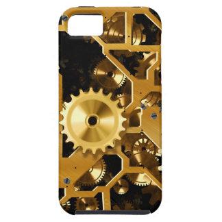 Gears Gold Clock Grunge Steampunk Office Destiny iPhone 5 Cases
