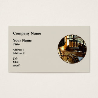 Gears in a Grist Mill Business Card