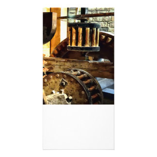 Gears in a Grist Mill Card