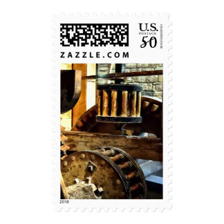 Gears in a Grist Mill Postage