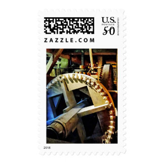 Gears in Grist Mill Postage