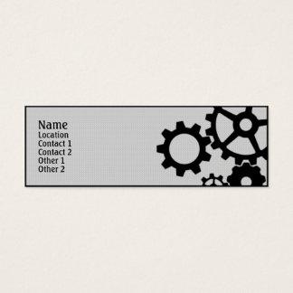 Gears Mini Business Card
