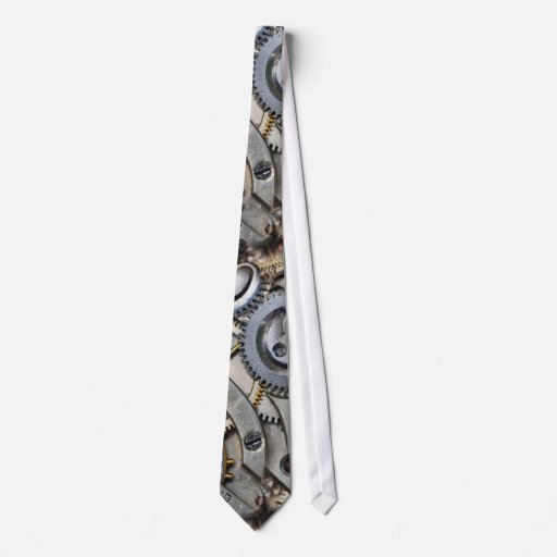 gears neck tie