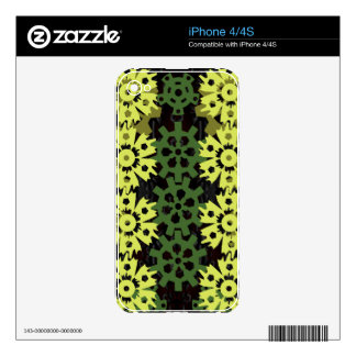 Gears Of Nature Skin For iPhone 4S