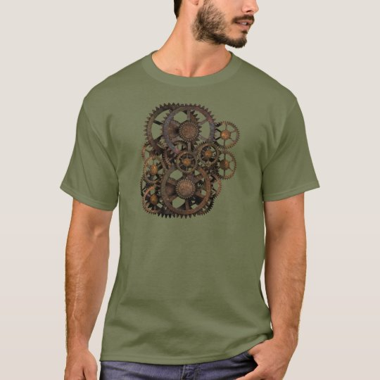 Gears on your Steampunk Gear! T-Shirt