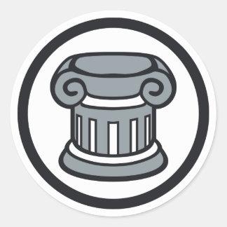 Gearsmith Elitism Classic Round Sticker