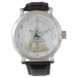 Gearwheel Christmas Tree 2 Wrist Watch
