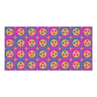 Gearwheels pattern card