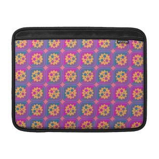 Gearwheels pattern sleeve for MacBook air