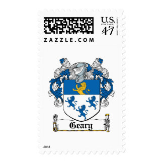 Geary Family Crest Postage