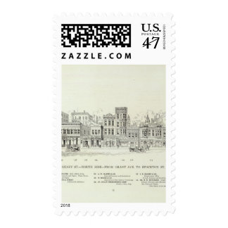 Geary North side Grant and Stockton Postage
