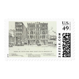 Geary South side Grant and Stockton Postage