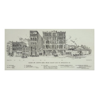 Geary South side Grant and Stockton Print