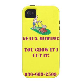 ¡Geaux que siega la caja de IPhone 4! iPhone 4/4S Carcasas