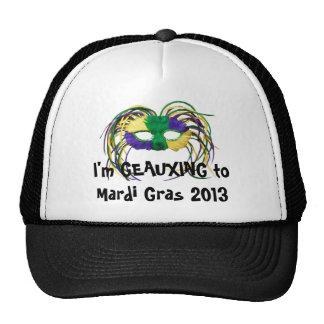 """""""Geauxing casquillo del carnaval 2013"""" Gorra"""
