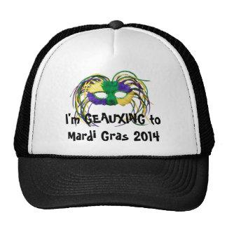 """Geauxing casquillo del carnaval 2014"" Gorros"
