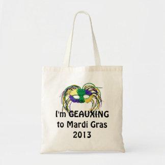 Geauxing to Mardi Gras 2013 Bag