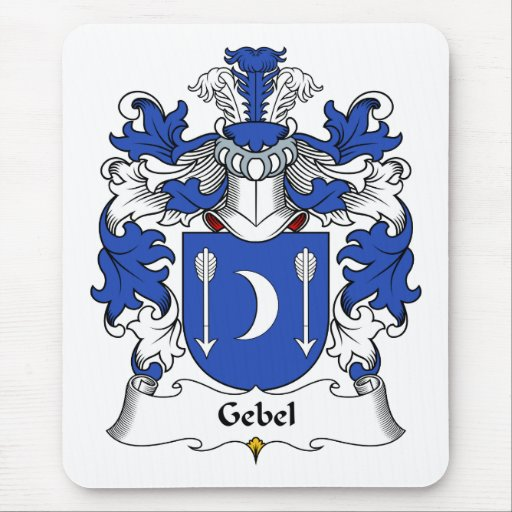 Gebel Family Crest Mouse Pad