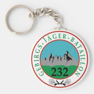 Gebirgsjagerbataillon 232 keychain