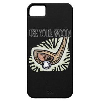 Gebruik Uw Hout iPhone 5 Cover