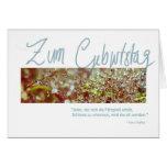 """Geburtstagskarte """"Kafka Waterberries"""" Greeting Card"""
