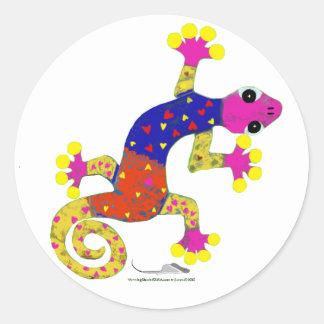 gec♥ classic round sticker