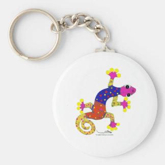 gec♥ basic round button keychain