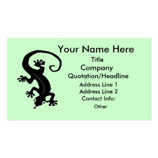 Gecko 1 Prototype Double-Sided Standard Business Cards (Pack Of 100)