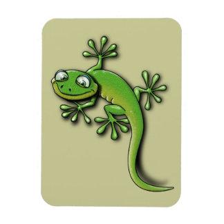 Gecko 2 vinyl magnet