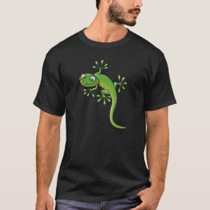 1dac864b3 Happy Cartoon Lizard T-Shirts - T-Shirt Design & Printing   Zazzle