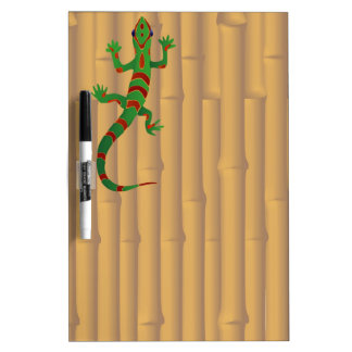gecko and bamboo Dry-Erase board