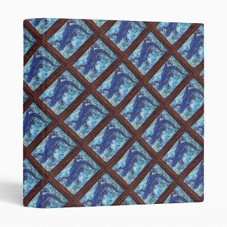 """Gecko azul 1,5"""" carpeta"""